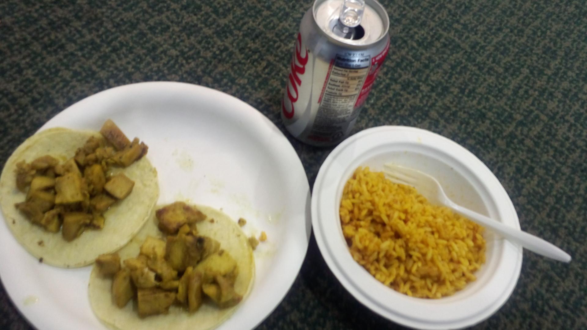 がっつりな昼食