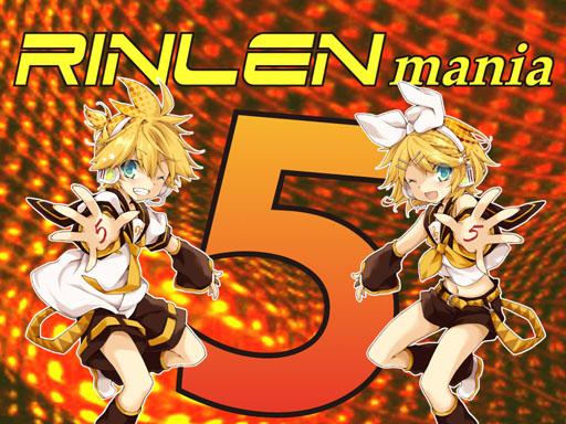 RINLENMANIA5タイトルロゴ