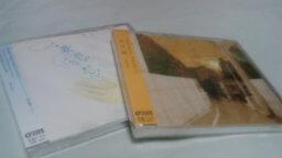 「歌に形はないけれど」と「夕日坂」のCDが届きました。