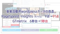 このwordpressサイトを高速化&見やすくするため20個の改善をしました