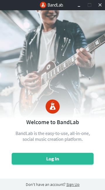 Bandlab Assistantの画面