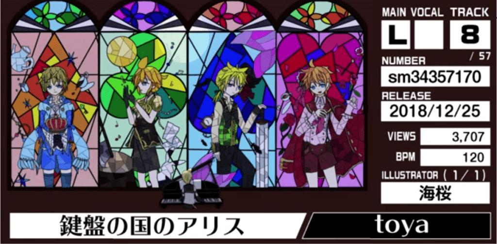 RINLENMANIA 12「鍵盤の国のアリス/toya」(イラスト:海桜さん)