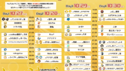 「kagamination FESTA」10/27~30開催!鏡音曲40曲以上がフェス形式で動画投稿!